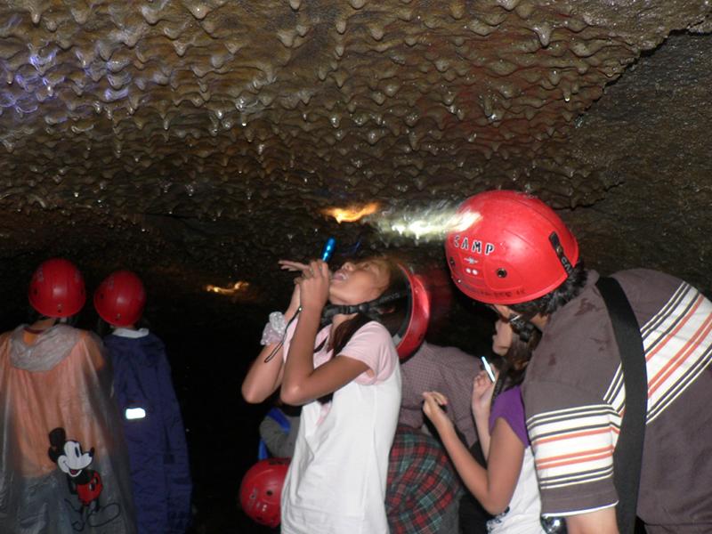 洞窟探険写真 (1)