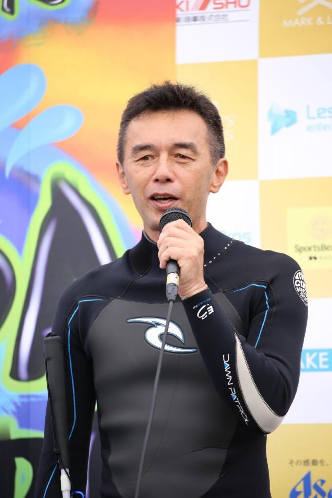 葭原滋男氏 トークショー
